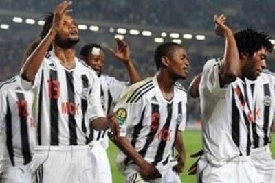 Un moment de joie immense pour les joueurs du TP Mazembe