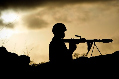 AMISOM Troops Up at Dawn on Mogadishu's Frontline (file photo).