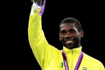 Anthony Obame, 1er médaillé olympique gabonais