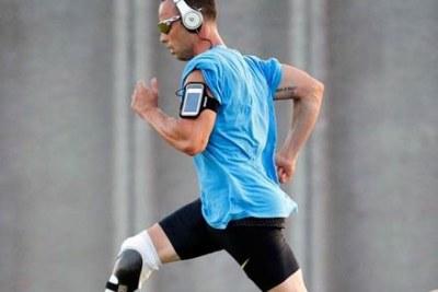 Oscar Pistorius athlète sud africain du 400 m