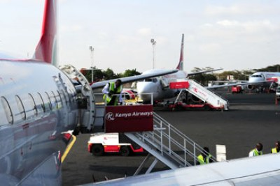 Kenya Airways (file photo).