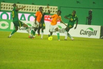 Match Côte d'Ivoire contre Sénégal, le samedi 08 septembre 2012 à Abidjan