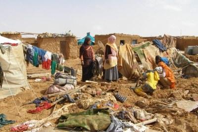 Sahrawi refugees.
