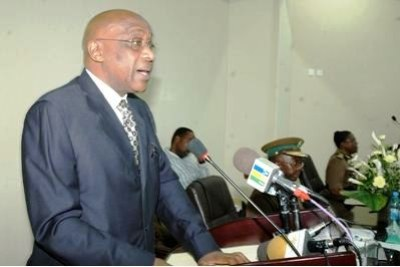 The Minister for Tourism and Natural Resources, Ambassador Khamis Kagasheki