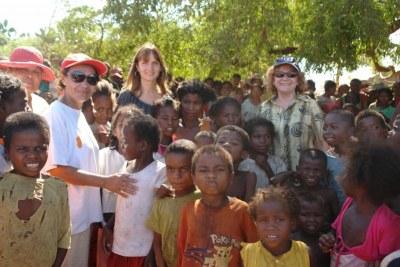 L'équipe du PAM à Madagascar