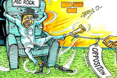 Opposition parties argue Jonathan cannot run in 2015