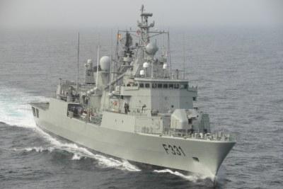La frégate russe «Pytlivy» franchissant le Bosphore en direction de la Méditerranée (photo d'illustration).