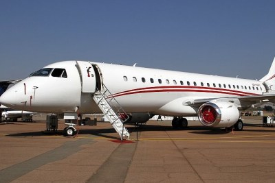 Aircraft parked at South Africa's Waterkloof Air force Base, a national key point (file photo).