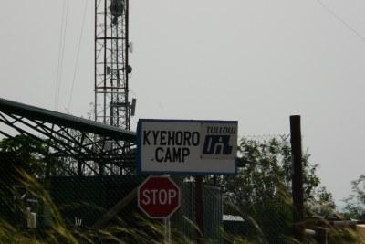 Tullow Oil Camp in Uganda (file photo).