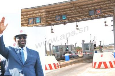 Ouverture de l'autoroute à péage Dakar-Diamniadio