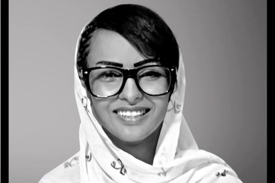 The Mauritanian performer, Leila, who was arrested for appearing in a music video with her head uncovered.