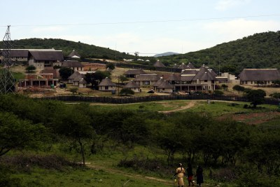 President Jacob Zuma's residence in Nkandla in KwaZulu-Natal (file photo).