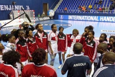 (Photo d'archives) - L'Angola, championne en titre, pourra-t-elle-conserver son titre avec la détermination des équipes en lice à Alger