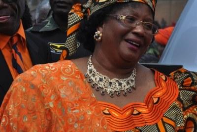 Former president Joyce Banda.
