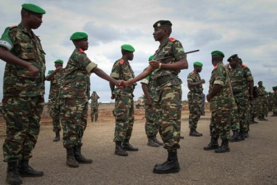 Djibouti to send an additional 950 troops to AMISOM (file photo).