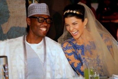 Former Nigerian Vice President's Son Weds