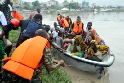 Over 40 people are feared dead in the commercial capital of Tanzania, Dar es Salaam, following flooding caused by three days of heavy rain (file photo).