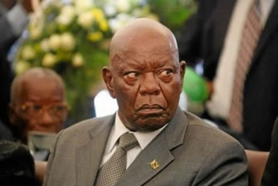 Zanu PF secretary for administration Didymus Mutasa (file photo).
