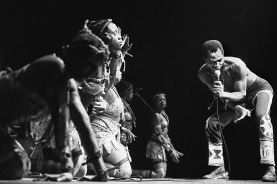 Fela Kuti (file photo).