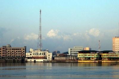 Vue de Cotonou
