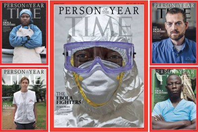 TIME magazine 2014 Person of the Year cover.