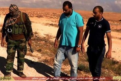 L'Etat islamique en Libye aurait annoncé l'exécution de Sofiane Chourabi et Nadhir Ktari