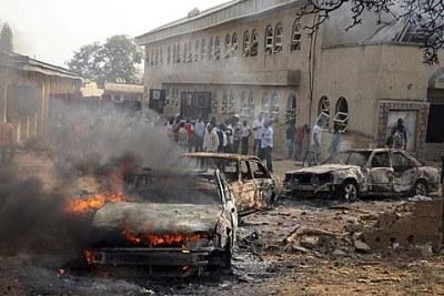 Explosion d'une bombe à Maiduguri