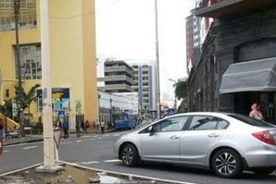 Les rues de la capitale, normalement noires de monde, ont été désertées ce mardi 13 janvier.
