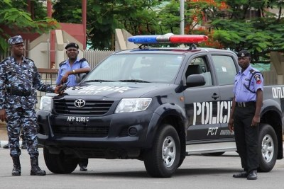 Nigeria police checkpoint (file photo).