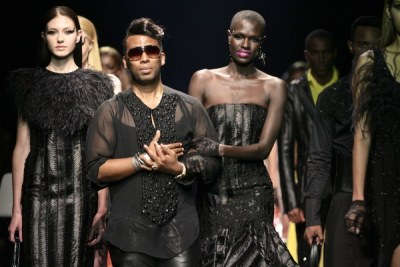 South Africa's David Tlale (file photo).