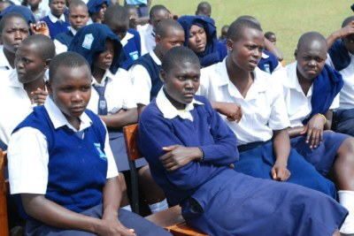 Students of Ratta Secondary School (file photo).