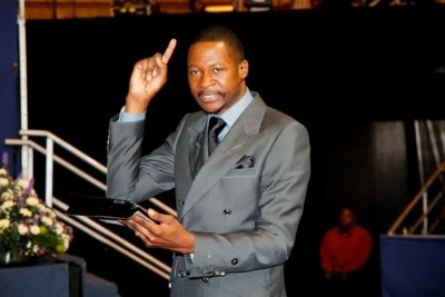 United Family Interdenominational Church (UFIC) leader Prophet Emmanuel Makandiwa.