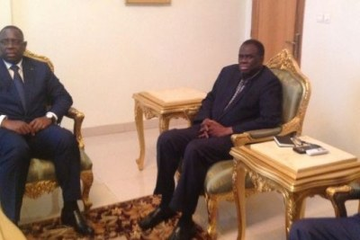 ECOWAS representatives: President Macky Sall and President Thomas Boni Yayi