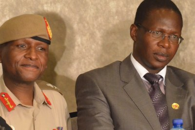 Lieutenant-General Tlali Kamoli, left, is under investigation for killings by soldiers on his watch, while some of them have been charged with the murder of Lieutenant General Maaparankoe Mahao, right.