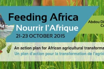 Conférence de haut niveau sur l'agriculture et agro-alimentaire, du 21 au 23 Octobre 2015 au Centre International de Conférence Abdou Diouf (CICAD) à Dakar.