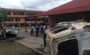 Rixe entre étudiants de l'INBTP et policiers en RDC
