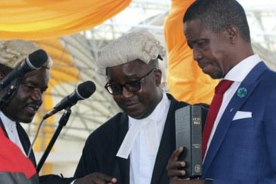 Investiture du Président Lungu.