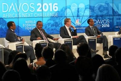 Davos 2016 Africa's Next Challenge