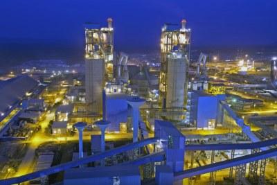 Dangote Cement Plant, Obajana, Nigeria.