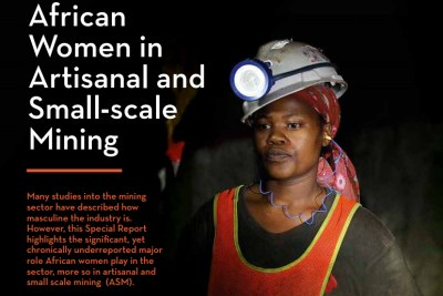 women in artisanal and small scale mining report by AMDC