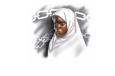 Sketch of Ese Oruru (file photo).