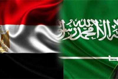 Visite du roi d'Arabie Saoudite Salmane Ben Abdel Aziz Al Saoud en Egypte