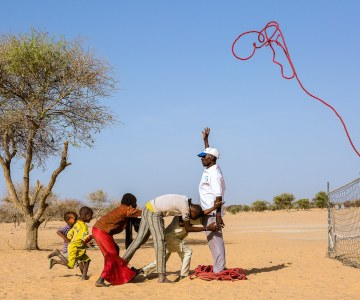 African Children Bound by Violence, Freed by Dreams
