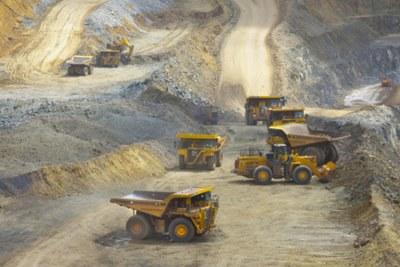 Acacia mine (file photo).