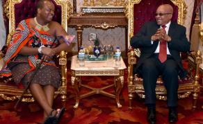 Le roi Mswati III à la tête de la SADC