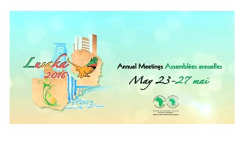 2016 Annual Meetings in Lusaka - AfDB's New Agenda for Africa