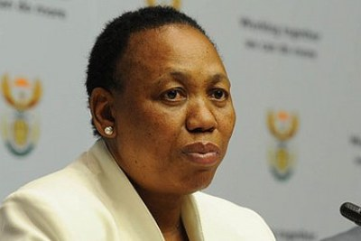 Basic Education Minister Angie Motshekga (file photo).