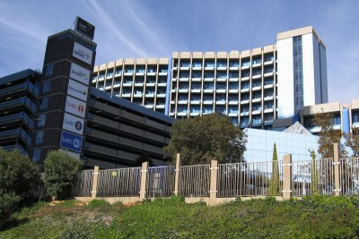 The South African Broadcasting Corporation headquarters in Johannesburg, South Africa (file photo).