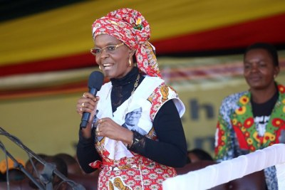 Zimbabwe's First Lady Grace Mugabe.