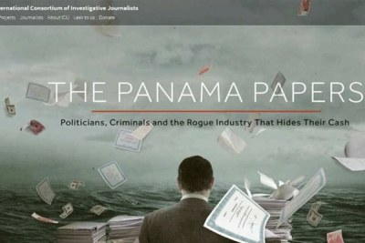 The Panama Papers website.